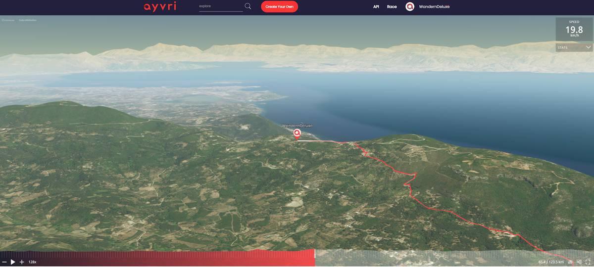 3D Vorschauf Corfu Trail