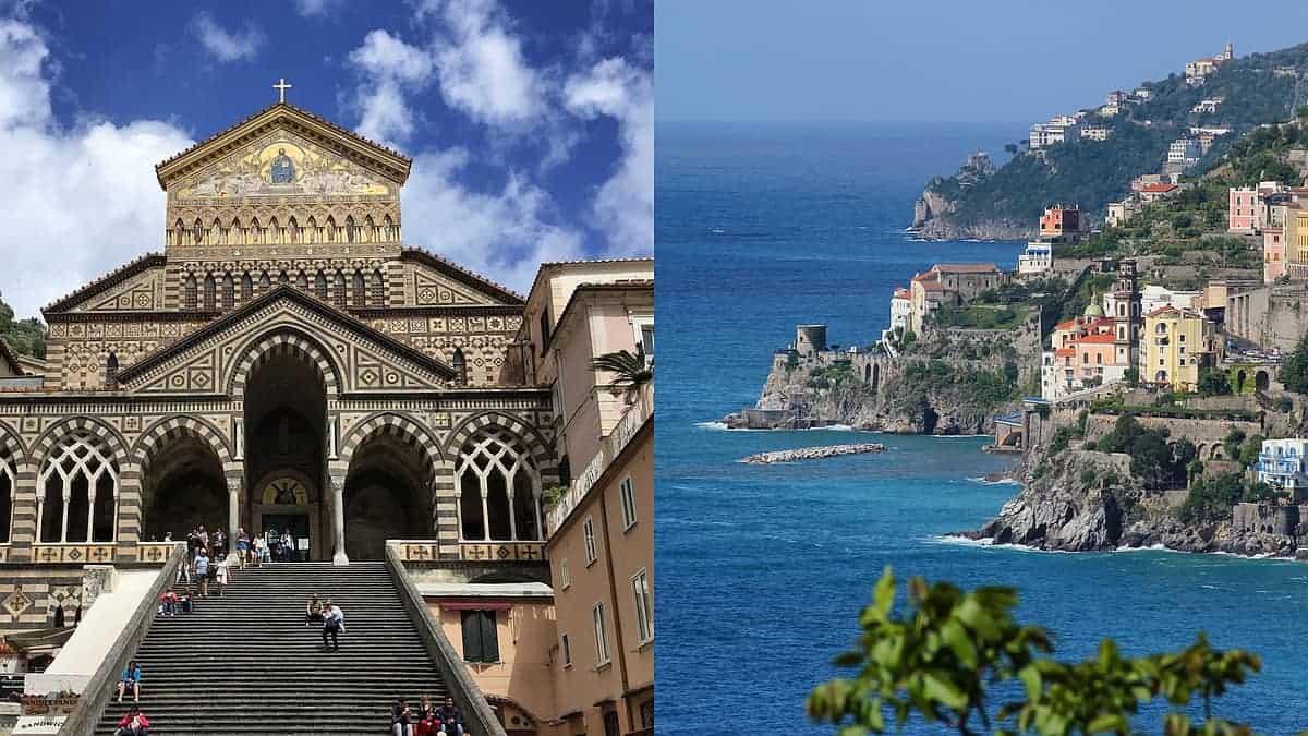 Tour Costiera Amalfitana Cartina.Costiera Amalfitana Vacanze Escursionistiche Ad Amalfi E Sorrento Wanderndeluxe