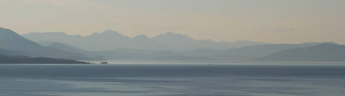 Corfu Trail Berge