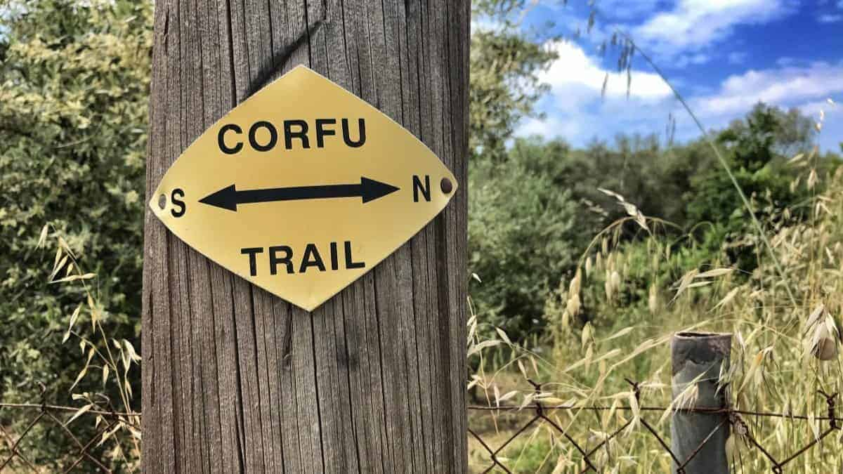 Corfu-Trail: Gesamtroute als GPX-Download