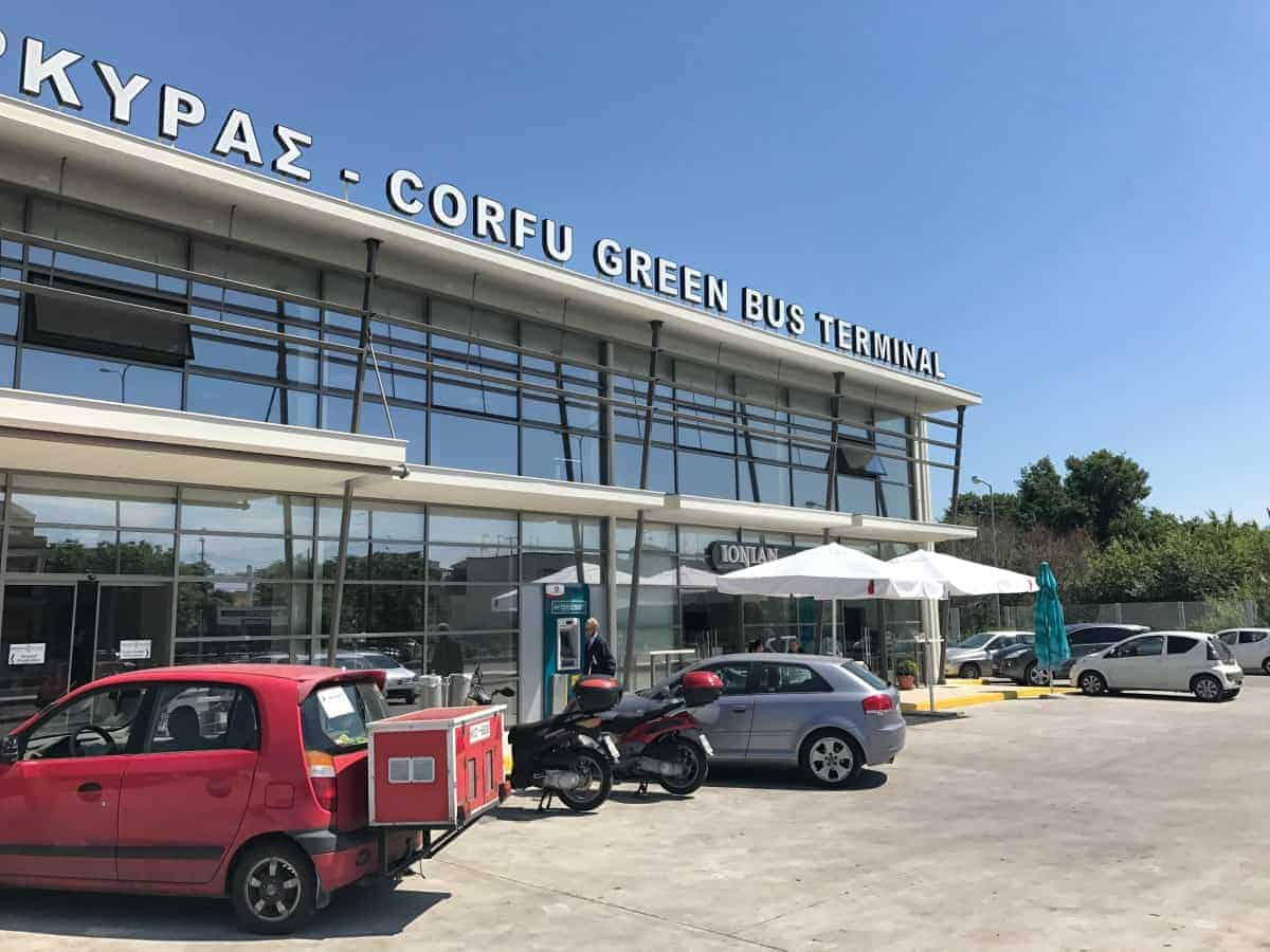 Corfu Trail Green Bus Terminal
