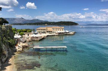 Korfu-Stadt: sehenswerte Altstadt - UNESCO-Weltkultur-Erbe