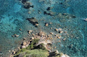 Corfu Trail km 02 Wandern an der Steilküste und glasklares Wasser