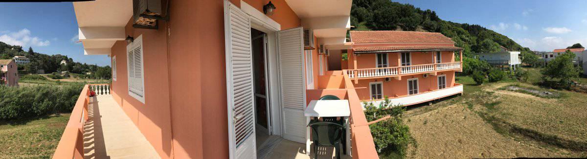 Corfu-Trail: Unterkunft Etappe 2