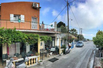Corfu-Trail: Unterkunft Etappe 4