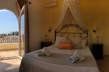 Corfu-Trail: Unterkunft Etappe 5