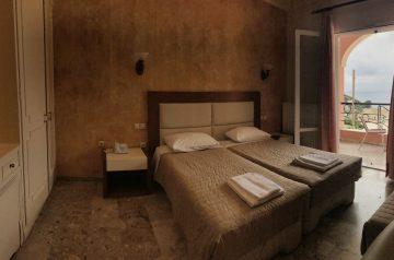 Corfu-Trail: Unterkunft Etappe 6