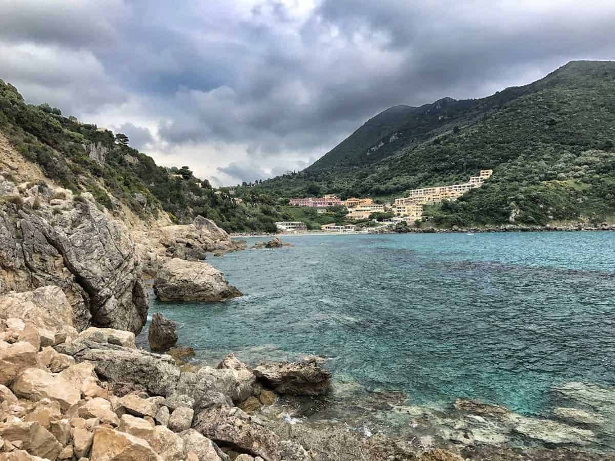 Corfu Trail km 96 Etappe 6 Übernachtung in Ermones