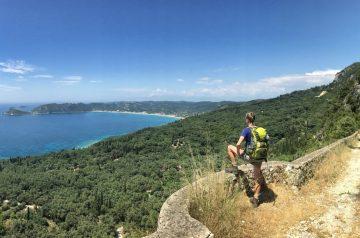 Corfu-Trail: Etappenplanung