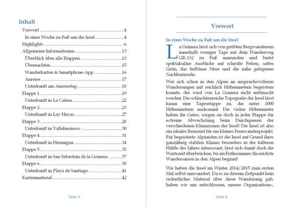 E Book Rundwanderung La Gomera Vorschau