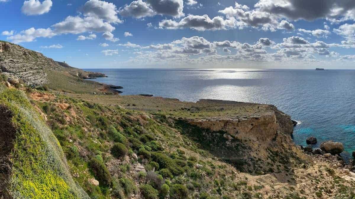 Fernwanderung Malta Gozo Etappe 1 01
