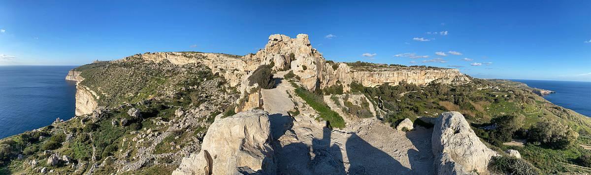 Fernwanderung Malta Gozo Etappe 1 24