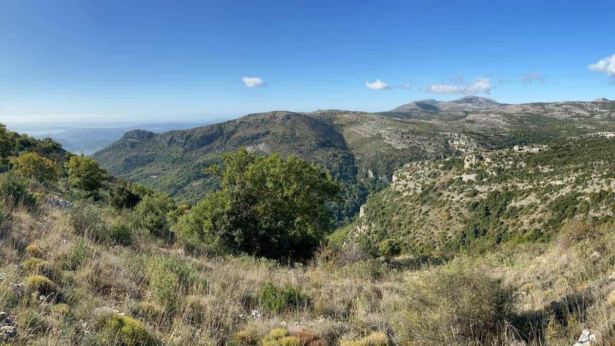 Fernwanderung Nizza Grasse 0042