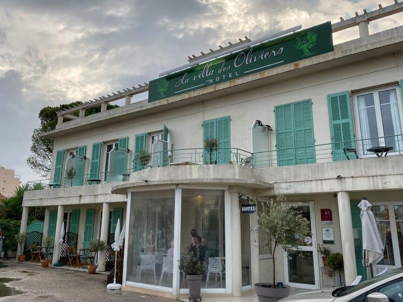 Fernwanderung Nizza Grasse Hotels BedBreakfasts 0017