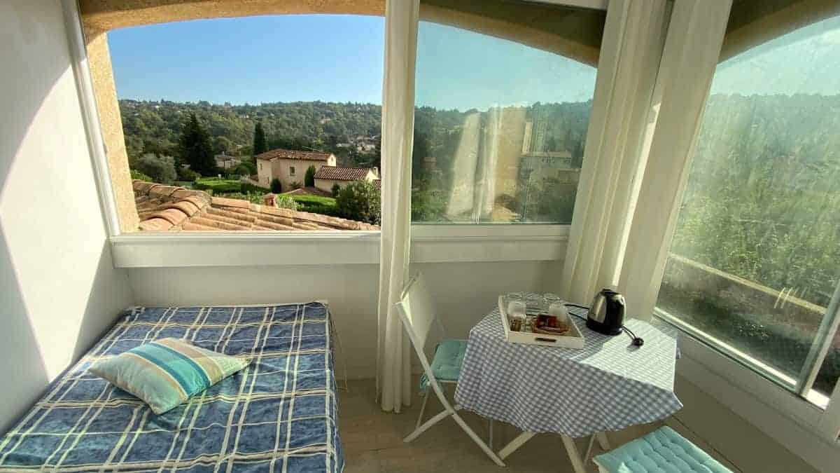 Fernwanderung Nizza Grasse Hotels BedBreakfasts 0019