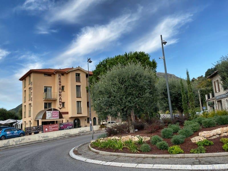 Fernwanderung Nizza Grasse Hotels BedBreakfasts 0022