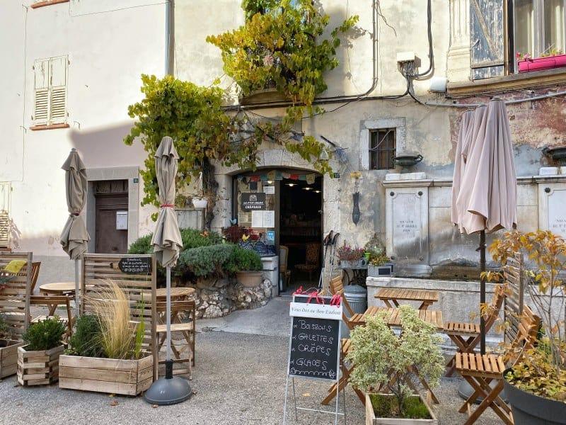 Fernwanderung Nizza Grasse Hotels BedBreakfasts 0023