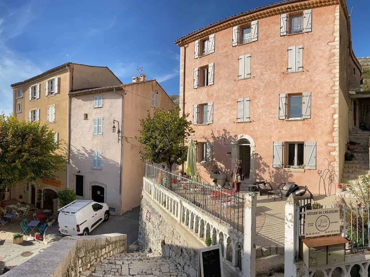 Fernwanderung Nizza Grasse Hotels BedBreakfasts 0026