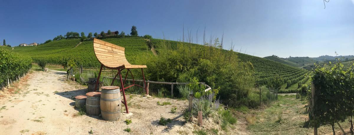 Fernwanderung Piemont von Weingut zu Weingut Etappe 3 4