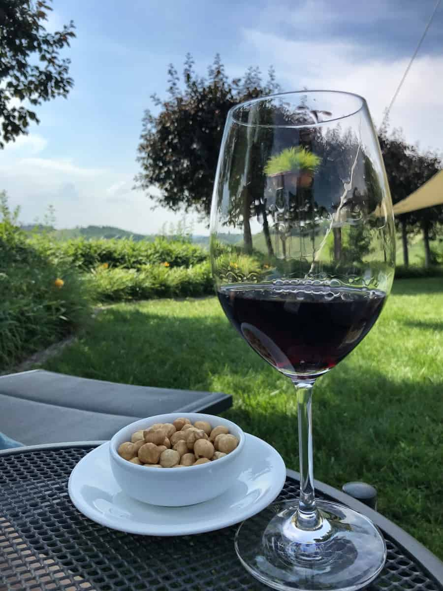 Fernwanderung Piemont von Weingut zu Weingut Unterkunft Etappe 3 6