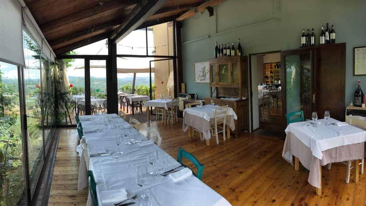 Fernwanderung Piemont von Weingut zu Weingut Unterkunft Etappe 4 3