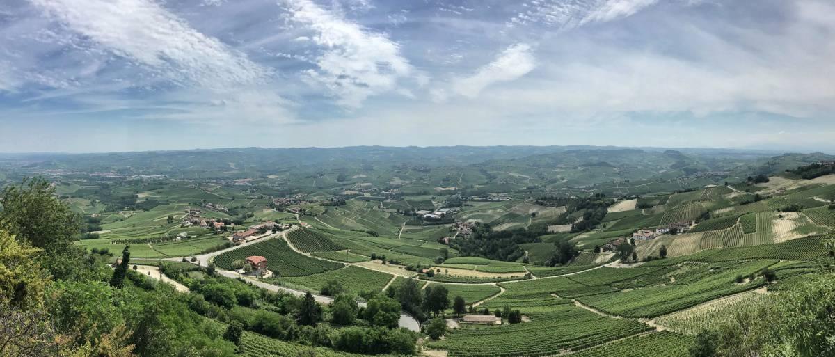 Fernwanderung Piemont von Weingut zu Weingut Unterkunft Etappe 5 2