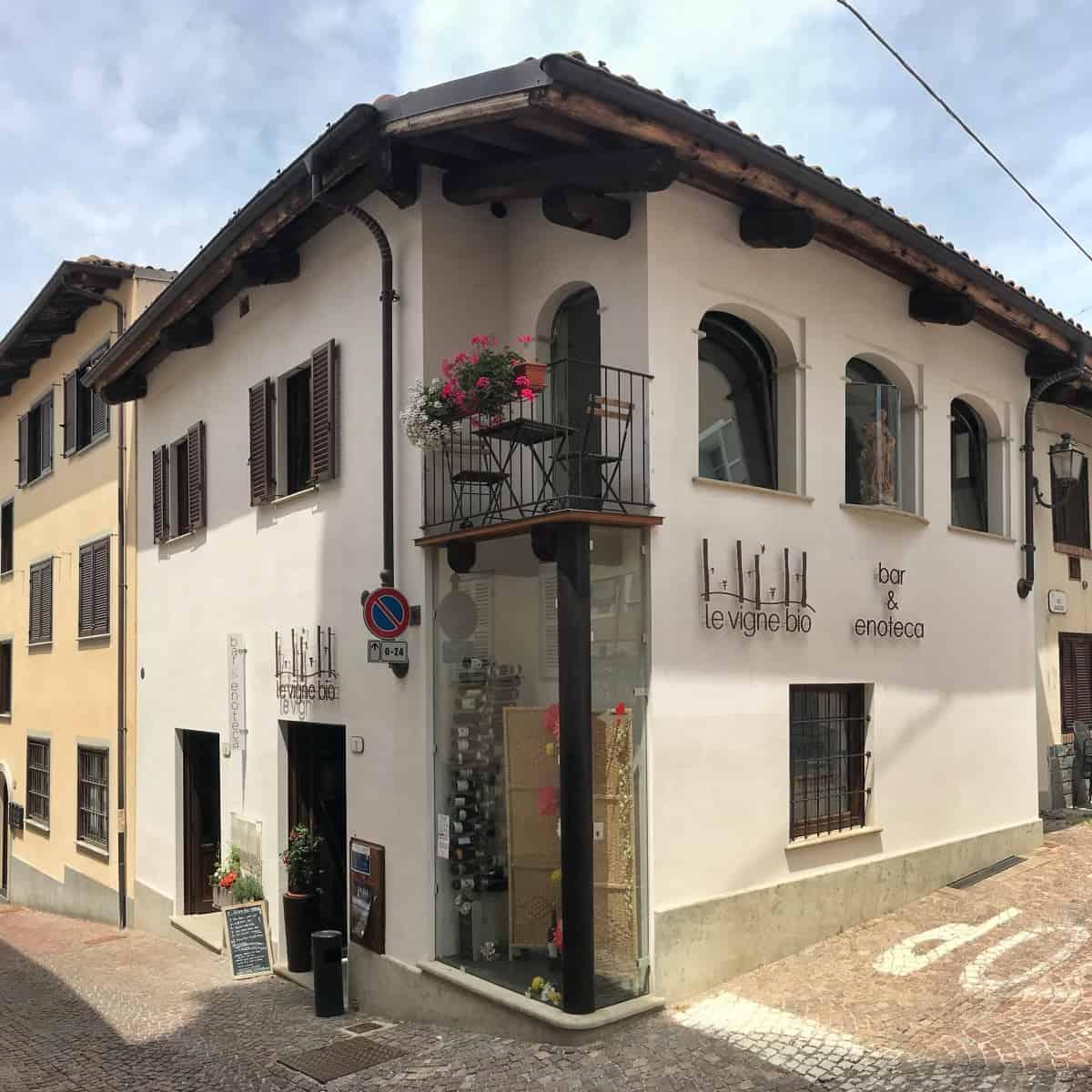 Fernwanderung Piemont von Weingut zu Weingut Unterkunft Etappe 5 4