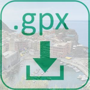 GPX Dateidownload Fernwanderweg Cinque Terre Ligurien