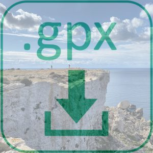 GPX Dateidownload Fernwanderweg Malta Gozo 2020