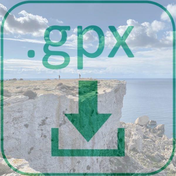 GPX Dateidownload Fernwanderweg Malta Gozo 2020