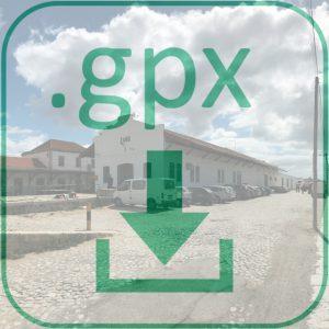 GPX Dateidownload Fussweg Faro Flughafen