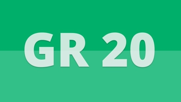 GR 20 Logo