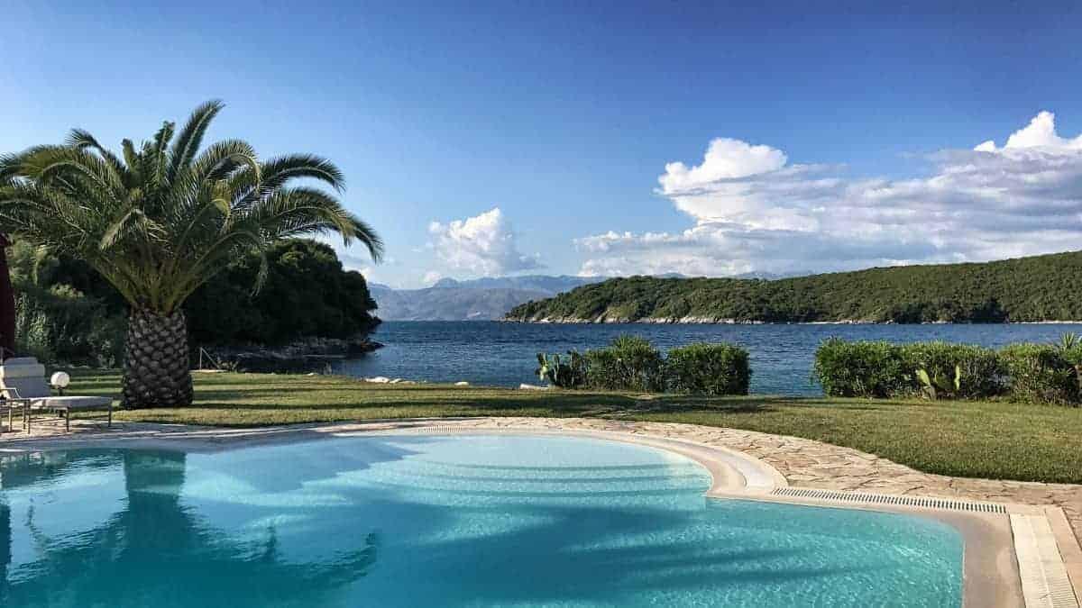 Hotel Bella Mare Insel Korfu Avlaki Kassiopi traumhafte Lage am Avlaki Beach