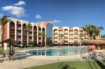 Küstenwanderung Algarve Albufeira Olhos de Água Hotel Falesia