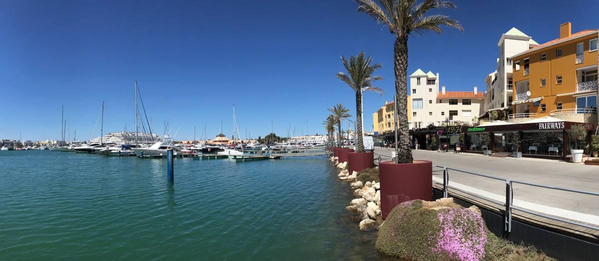 Küstenwanderung Algarve Etappe 1 15 Marina de Vilamoura
