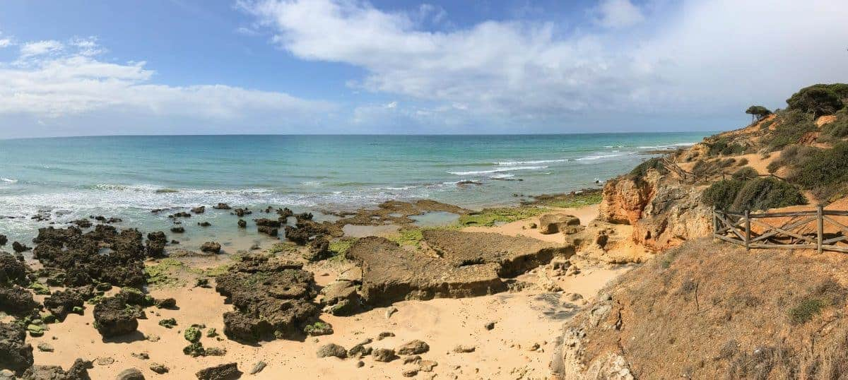 Küstenwanderung Algarve Etappe 2 05 kurz vor Albufeira