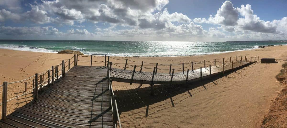 Küstenwanderung Algarve Etappe 2 24 Praia dos Salgados