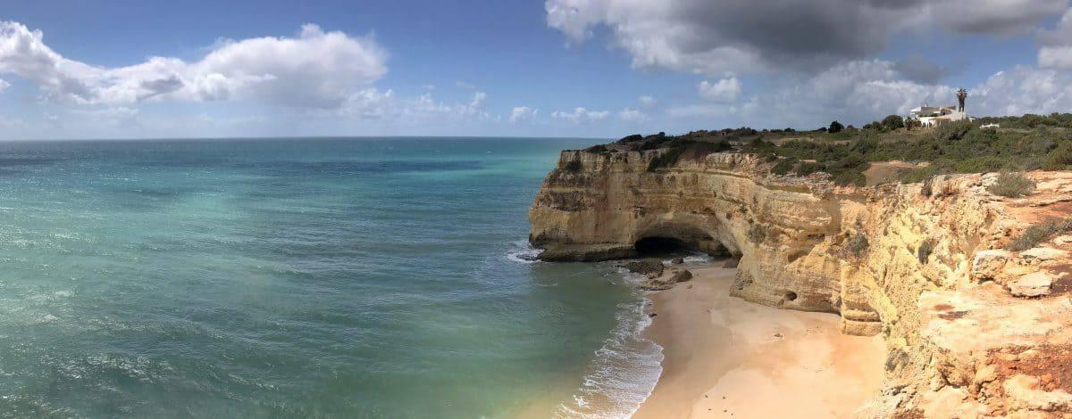 Küstenwanderung Algarve Etappe 3 17 raia da Malhada do Baraço