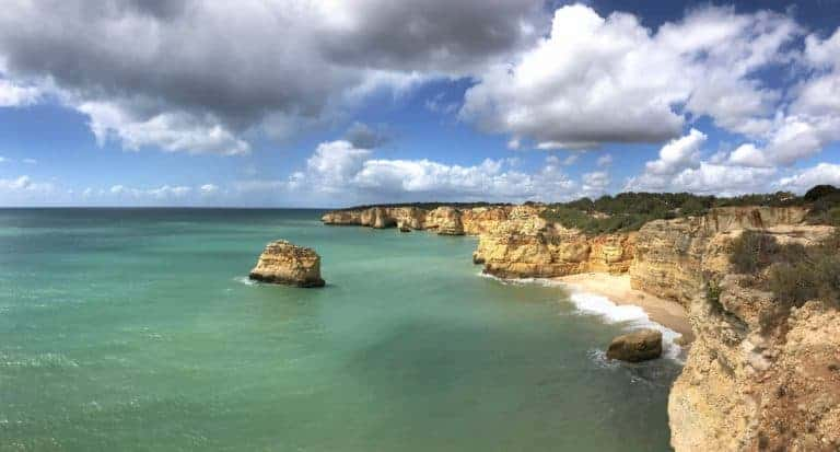 Küstenwanderung Algarve Etappe 3 19 Praia do Pau