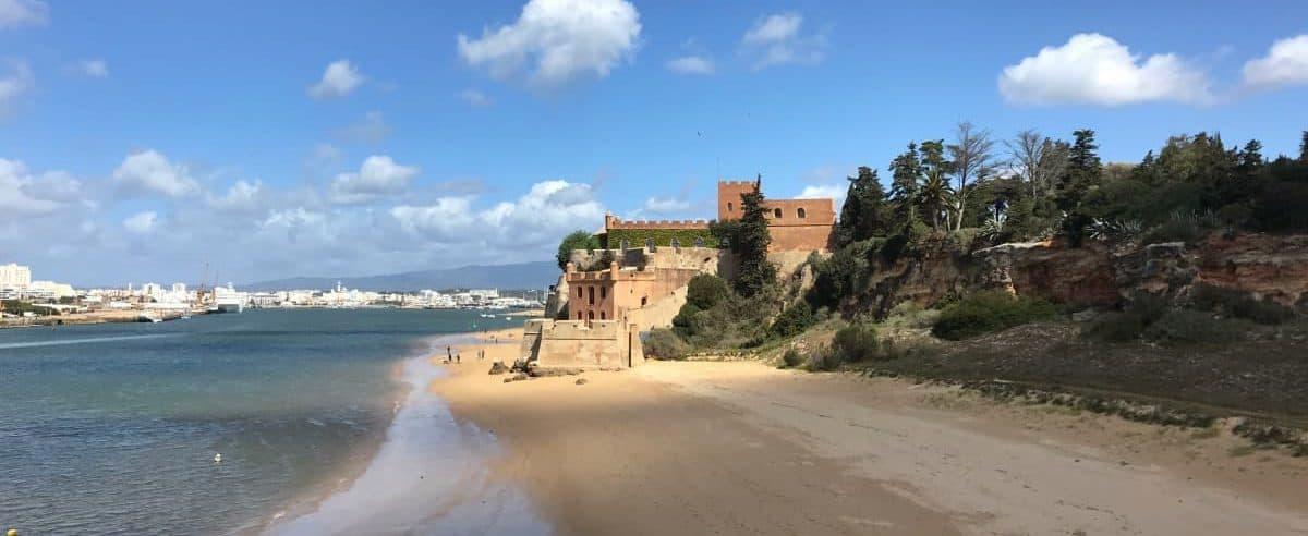 Küstenwanderung Algarve Etappe 4 09 Castelo São João do Arade
