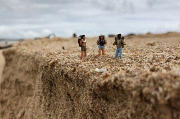 Küstenwanderung Algarve Höhenprofil der Wanderstrecke