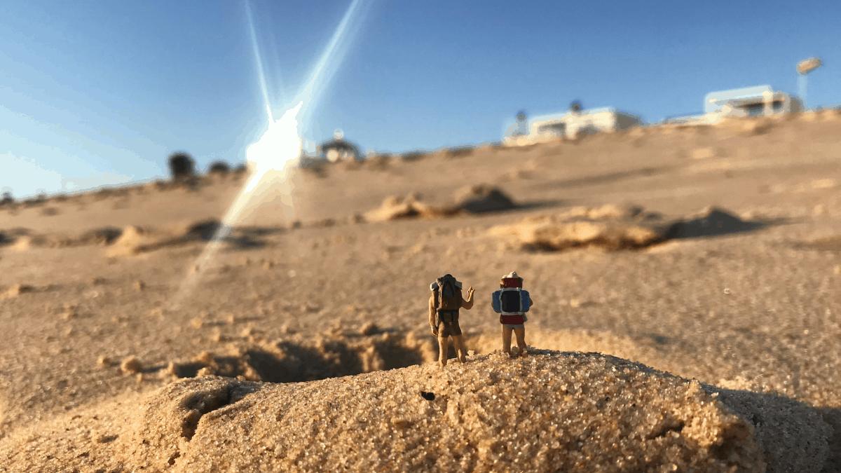Küstenwanderung Algarve Kartenmaterial Routendownload