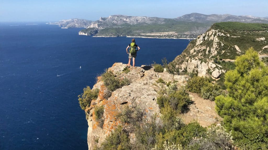Coastal footpath Marseille stage 3 The highest cliffs in France offer a spectacular view