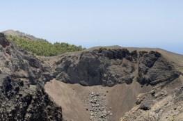 La Palma Gebiet betroffen Vulkan Cumbre Vieja Krater