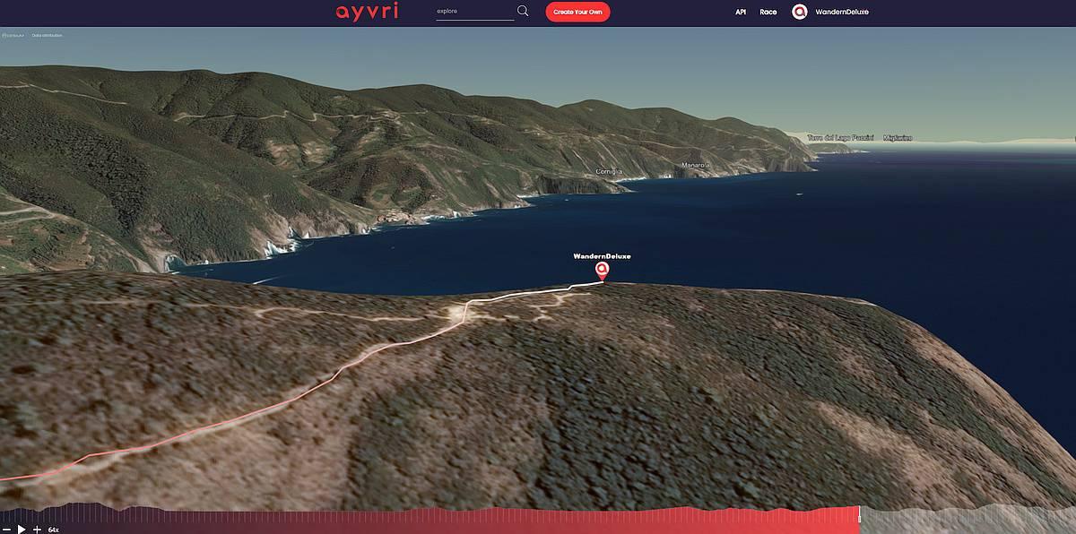 Ligurien Cinque Terre 3D Vorschau bei Ayvri