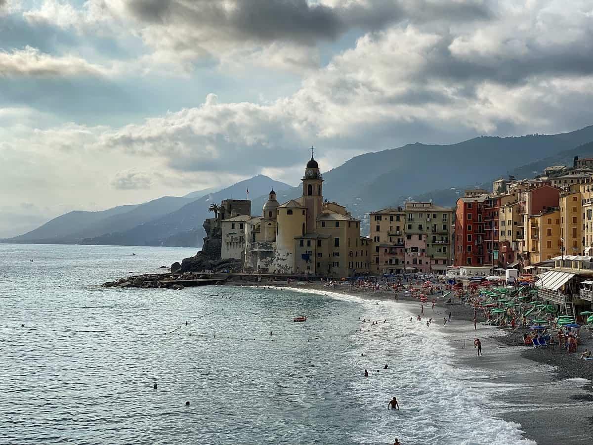 Ligurische Küste Cinque Terre Fernwanderung Etappe 1 18