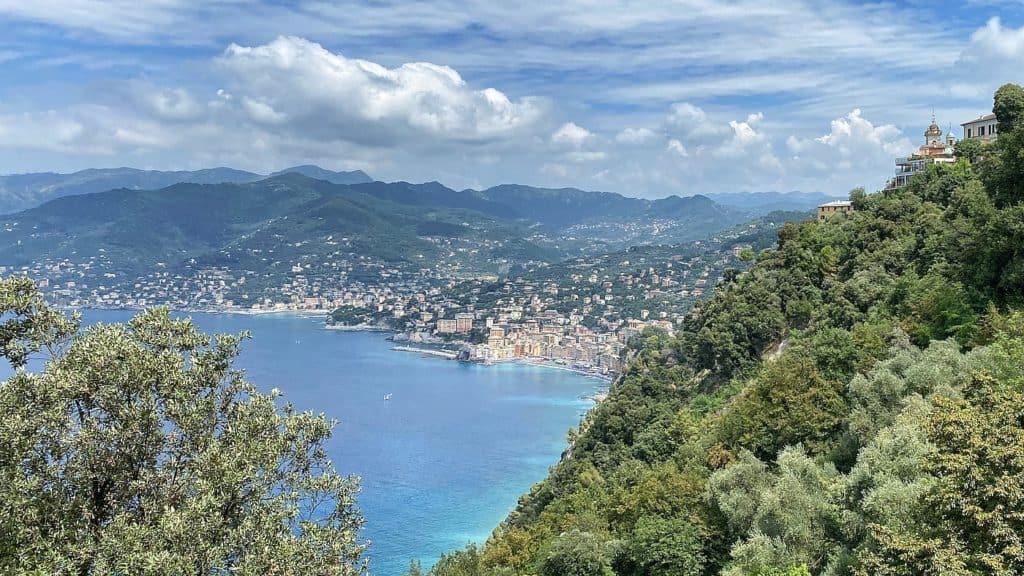 Ligurische Küste Cinque Terre Fernwanderung Etappe 1 nach Portofino