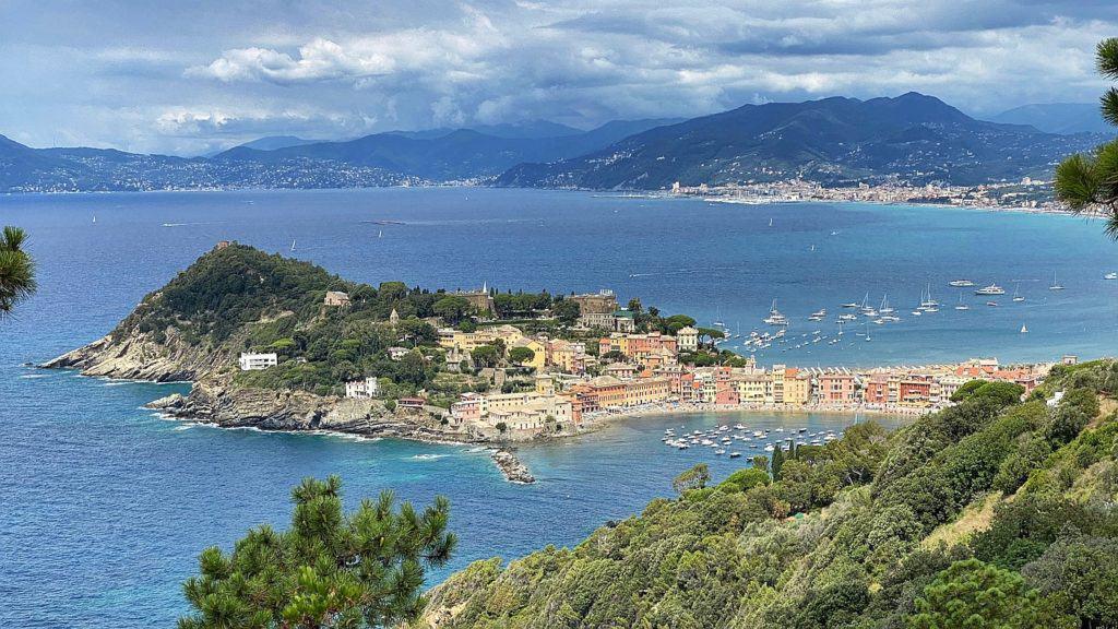 Ligurische Küste Cinque Terre Fernwanderung Etappe 2
