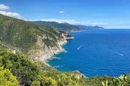 Ligurische Küste Cinque Terre Fernwanderung Etappe 2 15