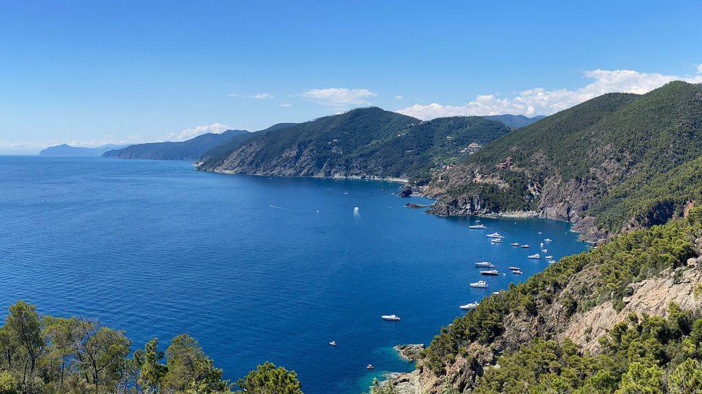 Ligurische Küste Cinque Terre Fernwanderung Etappe 3